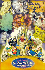 "Vintage Disney 11"" x 17"" ( Snow White  ) Collector's Poster Print - B2G1F"