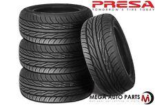 4 X New Presa PSAS1 205/50R16 87V All Season Ultra High Performance Tires