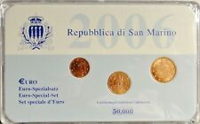 EURO SPEZIALSATZ 1, 2 und 5 Cent SAN MARINO 2006 -limitiert OVP-BOX  stgl / unc
