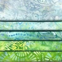 5 Multicolored Fat Quarter Bundle, Fat Quarters Wilmington Batiks, FQ5BYG