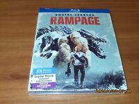 Rampage (Blu-ray Disc 2018 Widescreen) NEW With Slipcover