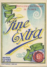ETIQUETTE / FINE EXTRA DOMAINE DE FLINES / TOURNAIS