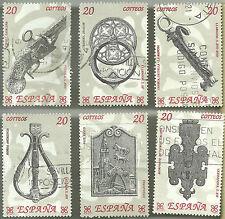 (1990) ARTESANÍA ESPAÑOLA. HIERRO (EDI. 3061 A 3066)