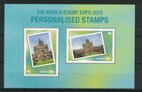 MAD325) Australia 2013 World Stamp EXPO Minisheet MUH
