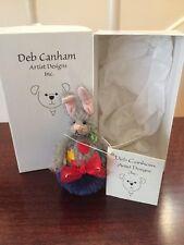DEB CANHAM Mohair Minature Marsh Rabbit in Box  Ltd. Ed. Retired/NEW STORE STOCK