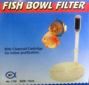 Fish Bowl Filter with Carbon UP1102