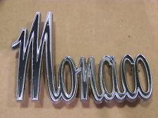 1965 DODGE MONACO FENDER EMBLEMS #2524723 #2524241 OEM 66