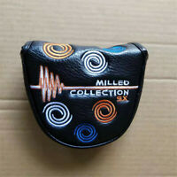 1xGolf Swirl Putter Cover Magnetic Golf Headcover for Odyssey Milled Collection