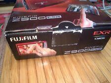 Fujifilm Digital Camera Finepix Z900 Exr 5X Optical Red WORK TESTED--IN BOX