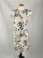 Ladies Dress Size 14 NEW LOOK Floral Shift Smart Day Party Wedding