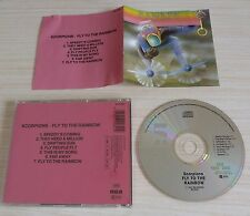 CD FLY TO THE RAINBOW SCORPIONS 7 TITRES RCA ND70064 1983 MADE IN GERMANY