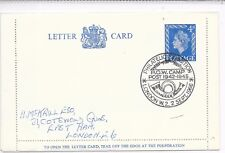 GB SPECIAL CANCEL LETTER CARD 2/9/66 H&B LCP25;P.O.W.CAMP POST EXHIBITION.