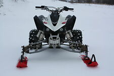 ATV Tires to Skis Conversion Kit Multiple Bolt Patterns (4/100, 4/110, 4/115)