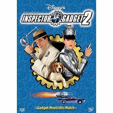 Inspector Gadget 2 DVD 2003 Disney movie sequel French Stewart