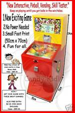 Pinball,Interactive,Skill Tester,Vending Machine, NEW!!