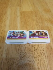 2 Vtech MobiGo Games Jake Neverland Pirates, marvel super hero squad sports hero