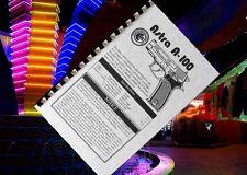 ASTRA MODEL A-100 Semi Automatic Pistol 9mm 40SW 45acp Gun Owners Manual A100