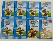 Paw Patrol Valentines Day Valentine Cards And Tattoo's 32 Pack Lot Of 8 New