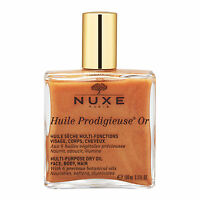NUXE Huile Prodigieuse OR Multi-Usage Dry Oil Golden Shimmer 100ml Organic