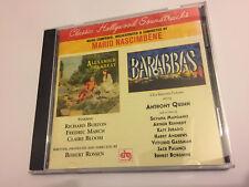 ALEXANDER THE GREAT / BARABBAS (Nascimbene) OOP 1996 Soundtrack Score OST CD EX