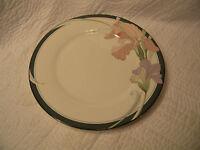 "Noritake New Decade CAFE DU SOIR 9091 Dinner Plate 10 5/8""  Gray Band Floral"