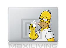 """Hülle Case Aufkleber Sticker Schutzfolie Apple Macbook 15""""  Simpsen 6"""