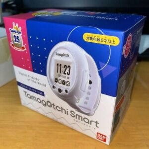 Bandai Tamagotchi Smart 25th Anniversary Set Limited Color White Watch 2021 Toy