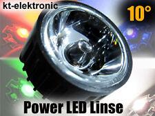 3 Stück 10° Linse Optik Reflektor für 1W 3W 5W Power LED