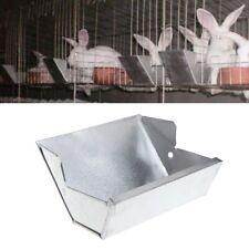 Pro Rabbit Hutch Trough Feeder Drinker Farming Bowl Pet Animal Equipment Tool
