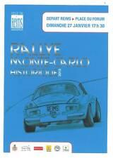 Carte postale Rallye Monté Carlo Historique 2013 départ de Reims Alpine A110