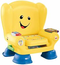 Fisher Laugh & Learn Smart Stages Chair Magic Seat 50 Songs Phrases BHB96