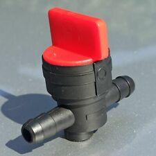 Universal Benzinhahn Öl Benzin Diesel für 6-8mm Ø Innendurmesser Schlauch