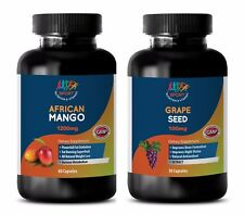 fat burner plus - AFRICAN MANGO – GRAPE SEED EXTRACT COMBO 2B - african mango pl