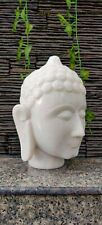 Marble Hand Carved Buddha Head Stone Buddha Meditation Yoga God Statue Sculpture