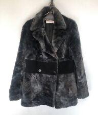 Manteau fourrure acrylique et cachemire CASTELBAJAC - Taille 44