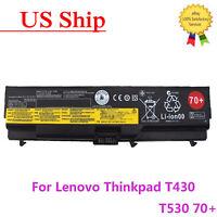 OEM Genuine Lenovo ThinkPad Battery 70+ T430 T530 W530 L430 L530 0A36302 45N1000