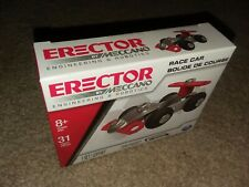 Erector By Meccano Engineering & Robotics- Mini Race Car.Pack of 31 parts.8+ yrs