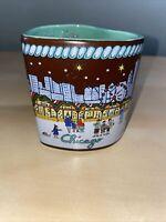 Heart Shaped Coffee Mug 2018 Christkindlmarket German Christmas Market Chicago