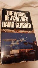 1973 The World Of Star Trek by David Gerrold paperback