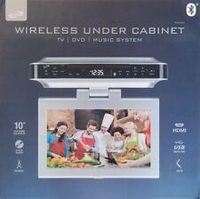 ILIVE 10 in LCD TV DVD CD Player Bluetooth Speaker FM Radio Under Cabinet System