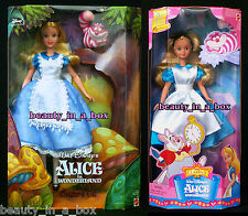 Alice in Wonderland Doll and the Cheshire Cat My Favorite Fairytale Disney Lot 2