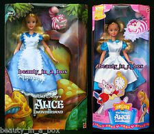 """Alice in Wonderland Doll and Cheshire Cat My Favorite Fairytale Disney """" Lot 2"""