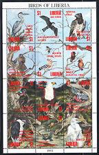Liberia # 1161 MNH 1993-94 Birds Sheet