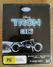 Tron Legacy, Viva Metal Box, Steelbook, 3 Disk, Blu Ray, Neu, Sehr selten