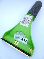 (3,95 €/unidad) 1x raspador con hoja de latón goma labio verde con mango Soft