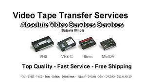 PAL Video Tape Transfer to DVD FROM PAL VHS MiniDV 8mm HI8mm Digital8 Conversion