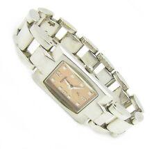 Fossil F2 Damenuhr Armbanduhr Damen Edelstahl braun ES-8857 Batterie neu N94