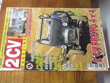 7µ?§ Revue 2CV Magazine n°18 2CV Proto 4X4 2CV Azam Gurtner Allumage electroniqu
