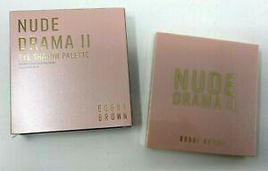 BOBBI BROWN Nude Drama II Eye Shadow Palette - 12 Colors - Brand New in Box