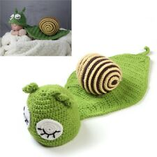 Baby Snail Photography Props Newborn Girls Boys Birthday Party Knit Costume Kit